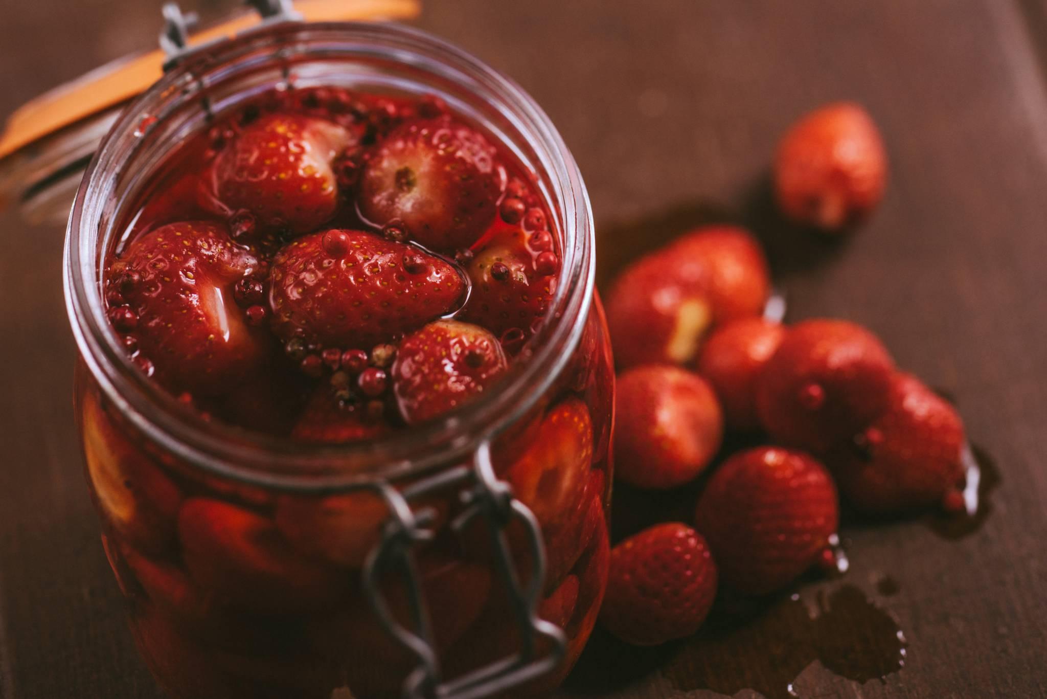 Pickled Strawberries- Pickle Shack