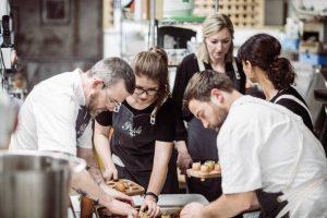 Test kitchen team 1